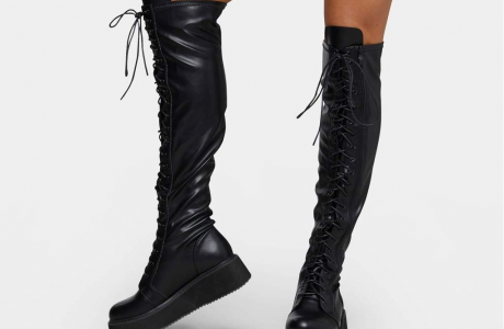 Blade lace up boots