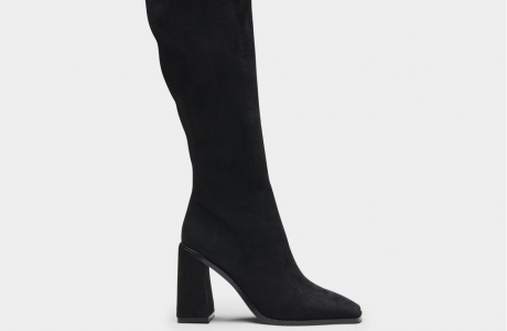 Dion Square Toe Knee High