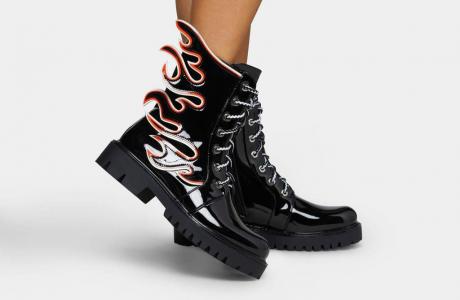 Flamo Combat Boots