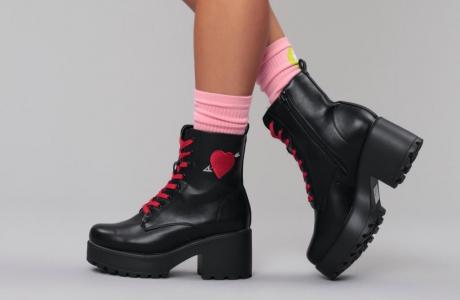 Romeo heart boots