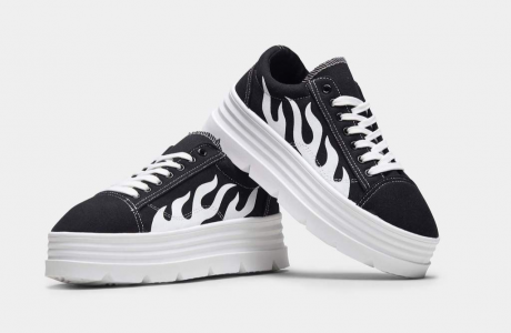 THE FURIES Flamed Chunky Trainers
