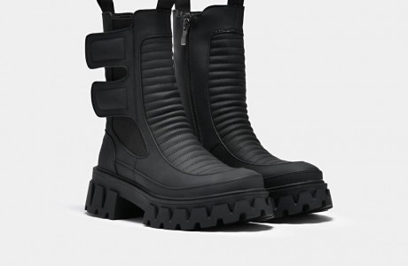 Vader Padded Croft Boots