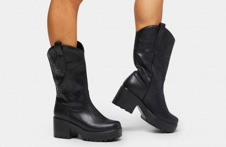 Wintu Long Western Boots